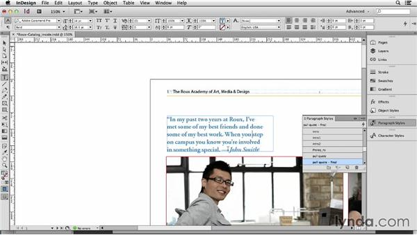 121 Creating pull quotes the easy way: InDesign Secrets