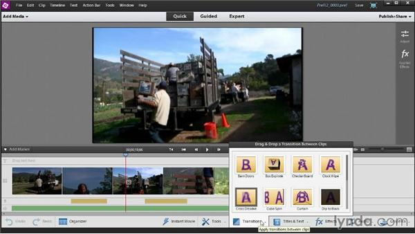 A tour of the interface: Up and Running with Premiere Elements 12
