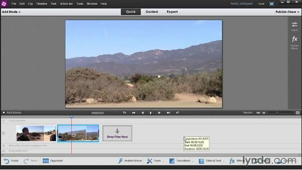 Interfacing with your Adobe Revel account: Up and Running with Premiere Elements 12
