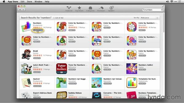 Accessing the App Store on your Mac: iWork: Workflows and New Features