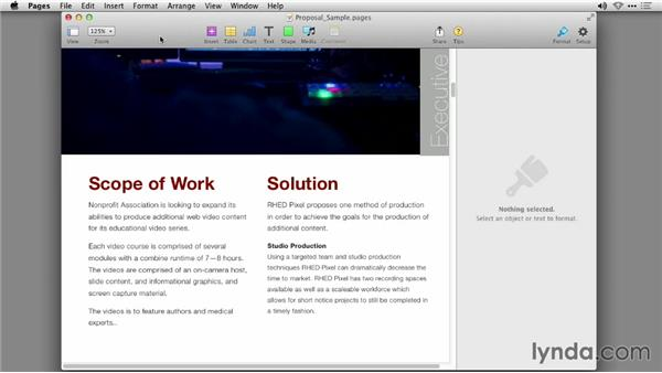 A note about reduced functionality: iWork: Workflows and New Features