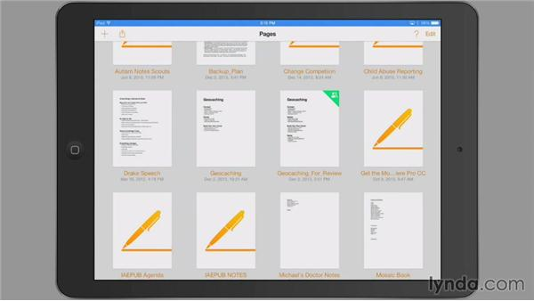 Choosing where to work: iWork: Workflows and New Features