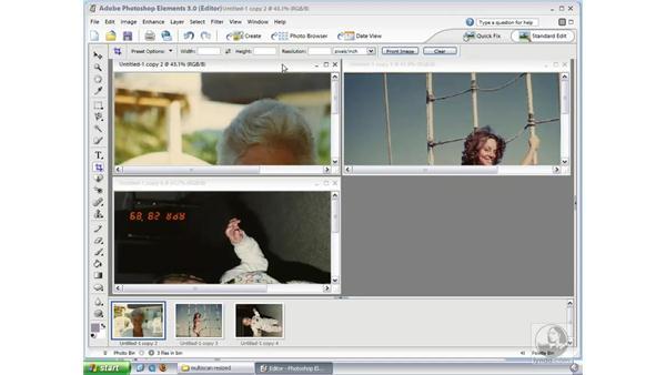 Scanning Multiple Photos: Photoshop Elements 3 Essential Training