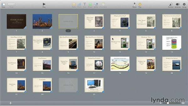 Changing viewing modes: iWork: Workflows and New Features