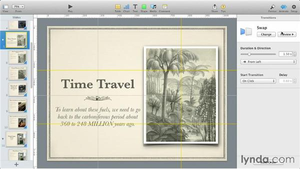 New animations: iWork: Workflows and New Features