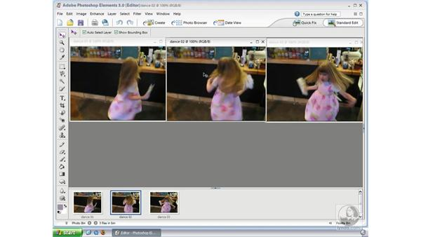 Capturing Still Frames from Video: Photoshop Elements 3 Essential Training