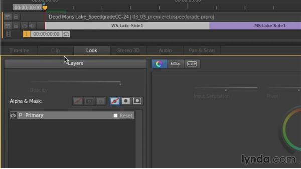 What's new in 7.1: Up and Running with SpeedGrade CC