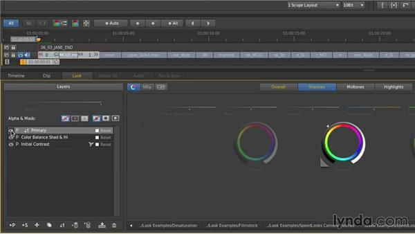Mask linking: Up and Running with SpeedGrade CC