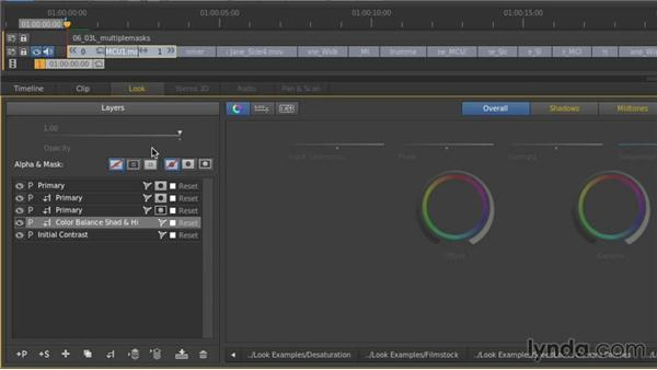 Maks and layer linking: Up and Running with SpeedGrade CC