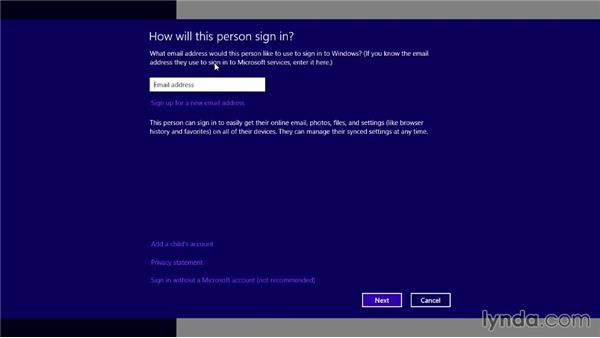 Launching Skype and logging in: Up and Running with Skype for Windows
