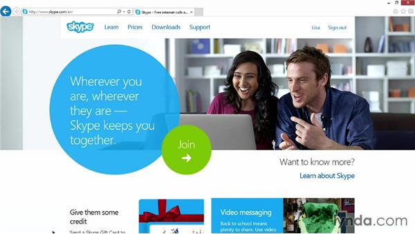 Wrapping up: Up and Running with Skype for Windows