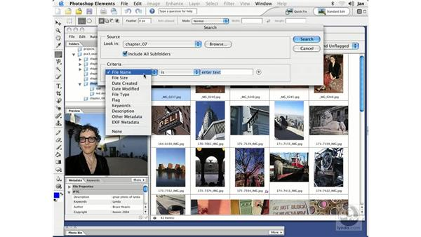 Searching for Files: Photoshop Elements 3 Essential Training