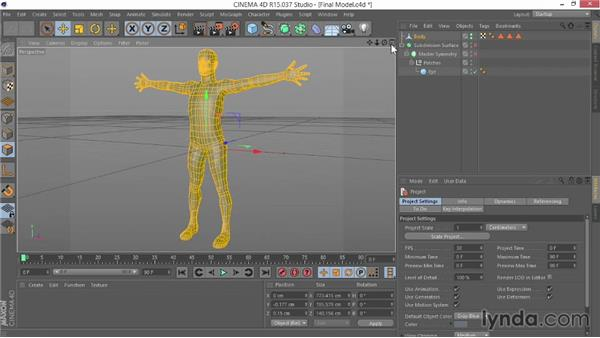 What you should know before watching this course: Modeling Characters in CINEMA 4D
