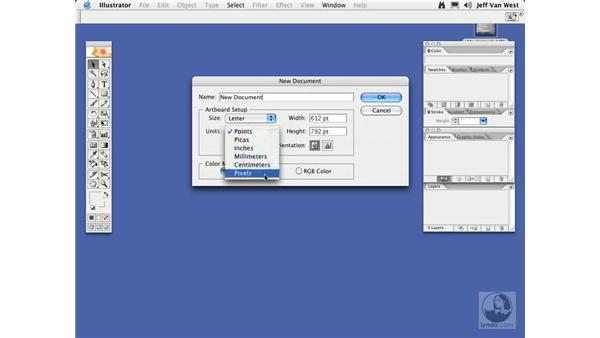 Creating New Files: Illustrator CS2 Essential Training
