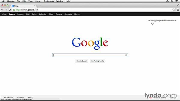 Google vs. Google Apps for Education: Google Apps for Students