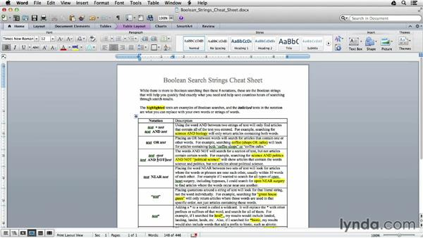 Student Boolean basics: Google Apps for Students