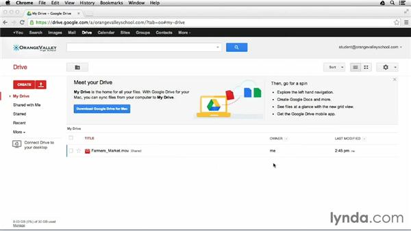 Keeping assignments safe: Google Apps for Students