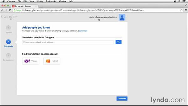 Setting up your student profile: Google Apps for Students