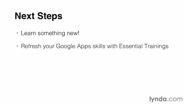 Next steps: Google Apps for Students