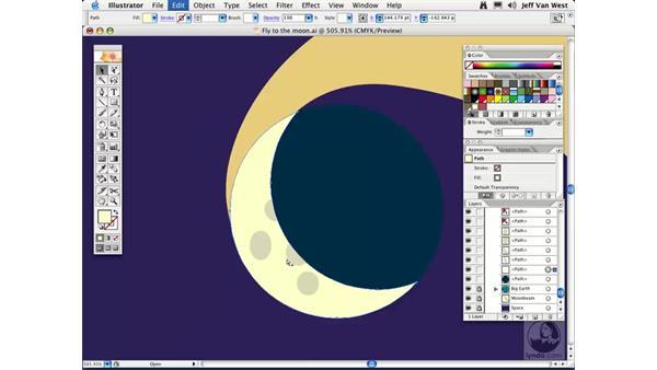 Grouping: Illustrator CS2 Essential Training