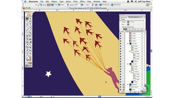 Stacking and Arranging: Illustrator CS2 Essential Training