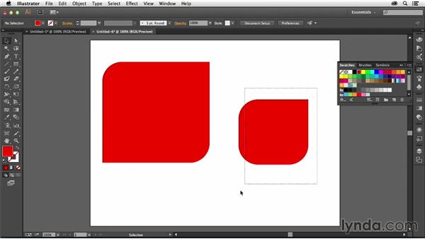 How to round individual corners on Illustrator shapes: Creative Quick Tips