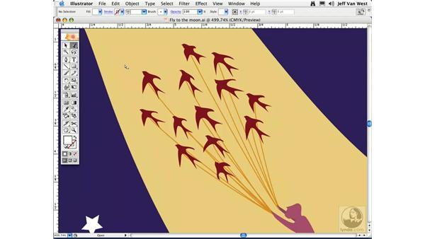 Outline View: Illustrator CS2 Essential Training