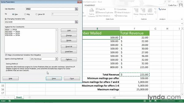 Welcome: Up and Running with Excel What-If Analysis