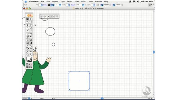 Ellipses and Rounded Rectangles: Illustrator CS2 Essential Training
