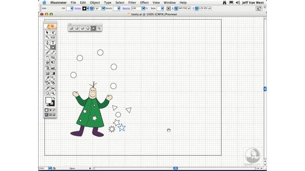 Polygons and Stars: Illustrator CS2 Essential Training