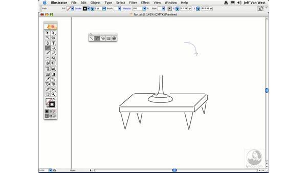 Lines and Arcs: Illustrator CS2 Essential Training