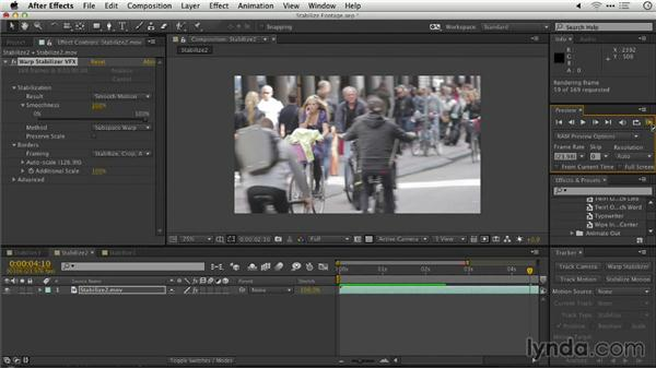 Stabilizing footage: Repairing and Enhancing Video