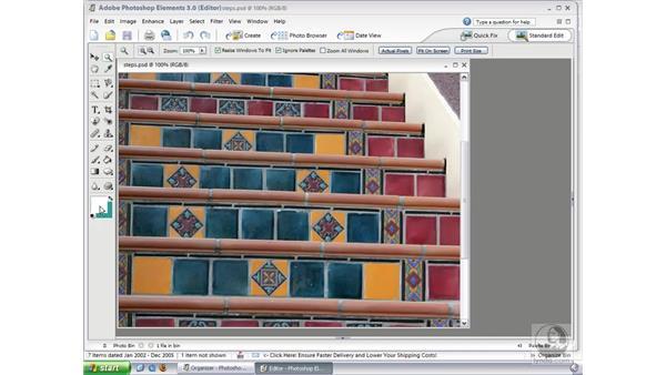 Choosing Colors: Photoshop Elements 3 Essential Training