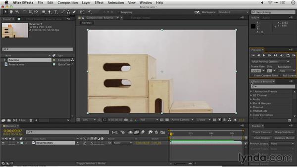 Reversing footage: Repairing and Enhancing Video