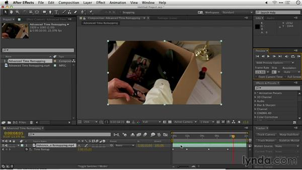 Advanced time remapping: Repairing and Enhancing Video