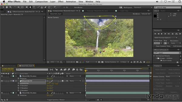 Replacing a blown-out sky in video: Repairing and Enhancing Video