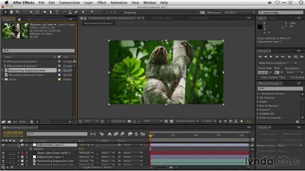 Recovering exposure: Repairing and Enhancing Video