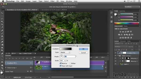 Secondary color grading with Photoshop: Repairing and Enhancing Video