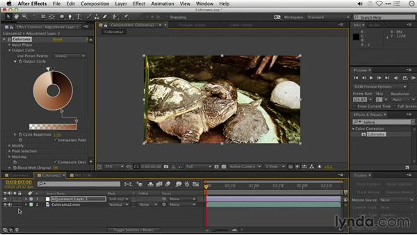 Stylizing color with the Colorama effects: Repairing and Enhancing Video