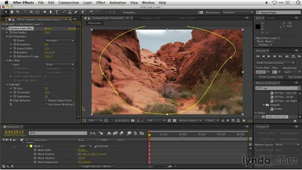 Creating a power window in Adobe After Effects: Repairing and Enhancing Video