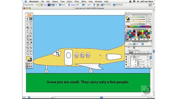 Adding Color: Illustrator CS2 Essential Training