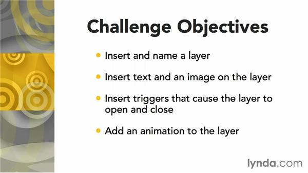 Using challenges: Articulate Storyline Advanced Techniques