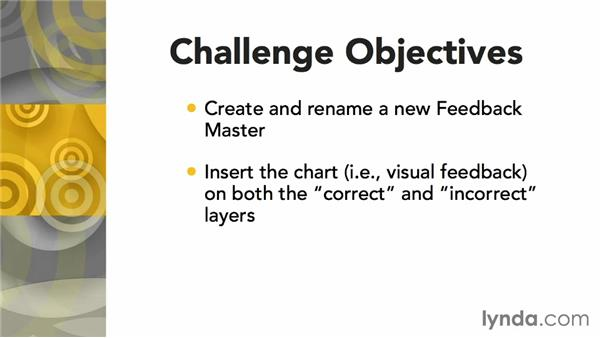 Challenge: Creating a new feedback master: Articulate Storyline Advanced Techniques