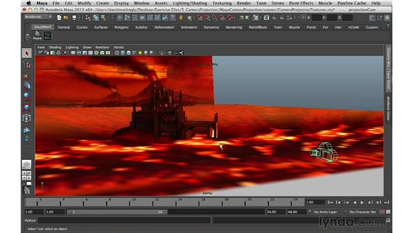 What is camera projection?: Digital Matte Painting Essentials 5: Camera Projection in Maya