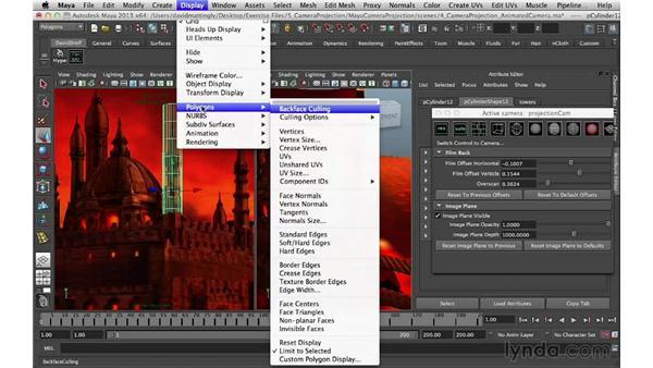 Vertex modeling: Digital Matte Painting Essentials 5: Camera Projection in Maya