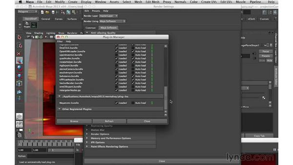 Render settings: Digital Matte Painting Essentials 5: Camera Projection in Maya