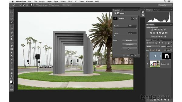 Removing and highlighting color in an outdoor scene: Photoshop for Photographers: Color Emphasis