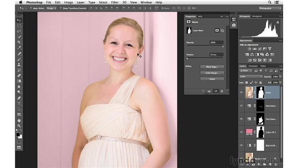 Bringing back skin tones with advanced masking: Photoshop for Photographers: Color Emphasis