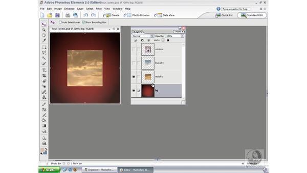 Understanding Layers: Photoshop Elements 3 Essential Training