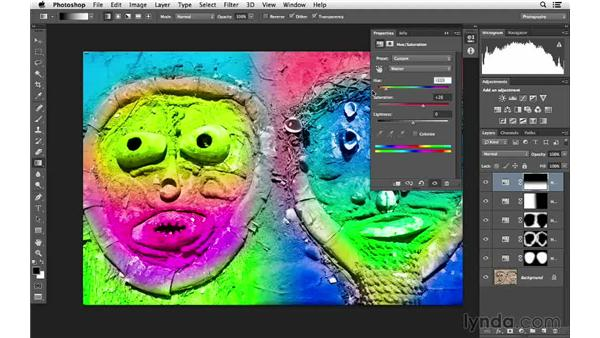 Creating vivid colors: Photoshop for Photographers: Color Emphasis